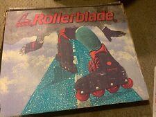 Vintage Inline Rollerblades Lightning Trs Women 10 Skates Black/Turquoise/Grape