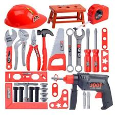 TOY WORKBENCH KIDS CHILDRENS TOOL KIT BENCH DIY STATION ELECTRIC DRILL PLAY