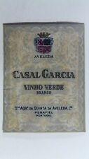 Casal Garcia Vinho Verde Branco Wine Bottle Label *L6