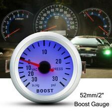 "Boost Vacuum Press Gauge Meter for Auto Car 2"" 52mm 0~30in.Hg / B3A7"