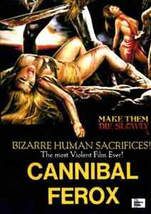 Cannibal Ferox - Giovanni Lombardo Radice, Lorraine De Selle, Danilo Mattei DVD