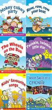 Childrens Kids Fun Music Songs & Dance DVDs Twinkle Twinkle, Hokey Cokey **New**