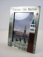 Venezia Venice Picture Frame Metal, 16 CM, st Mark's Square, New, Picture Frame