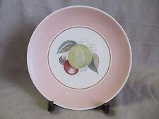 SUSIE COOPER CROWN WORKS FRUIT PATTERN PINK DINNER PLATE  VERY GOOD COND.