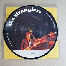 "The Stranglers Talking to JJ Burnel Numbered Mint 7"" Picture Disc (0378)"