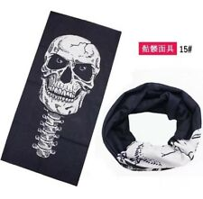 Bicycle Ski Full Skull Face Mask Ghost Scarf Multi Use Neck Warmer COD Gift