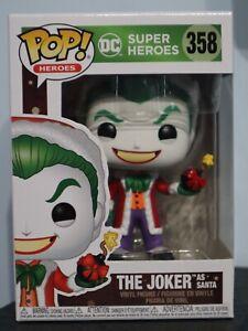 Funko Pop! - The Joker As Santa 358 - DC Super Heroes - Batman [1]