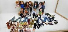 2001-2003 Bratz Doll Lot Of 11 Mga 4 boys 7 girls with shoes clothes & extra (m)