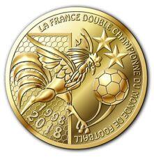 NOUVEAU ! jeton coupe du monde de football FIFA 2018 victoire equipe de France