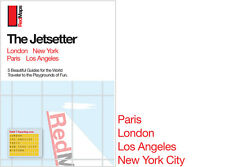 Red Maps JetSetter Map Set, CURRENT EDITION - City Travel Guide