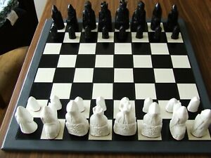 A Fascinating Medieval Isle Of Lewis Chess Set Chessmen NO BOARD INCLUDED