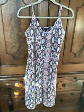 ONE CLOTHING SZ M REPTILE DRESS