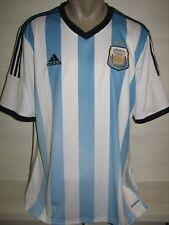 ARGENTINA 2013-15  HOME SHIRT ADIDAS SIZE XL