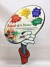 Wdw Walt Disney World Prop Sign 2000 Festival of the Masters