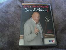 """DVD """"GUY MONTAGNE - COURS D'HISTOIRES"""""""