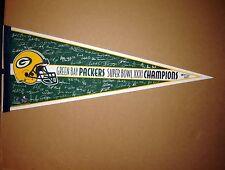Green Bay Packers Super Bowl 31 XXXI Champions NFL Football Pennant