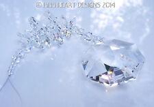 m/w Swarovski 40mm Clear LILY OCTAGON Lily Strand SunCatcher Lilli Heart Designs
