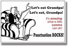 New Language Arts Poster - Comma Punctuation - Educational Classroom School