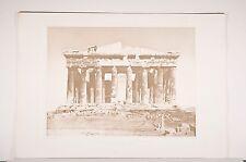 -Acropole d'Athènes, le Parthénon, relevés de E.Brune, Architecture, Grèce
