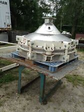 "Used Stainless Steel Bin Activator, 48"" Dia."