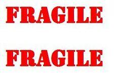 180 ebay seller FRAGILE package labels.  Choose font color.