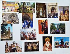 Lote de 15 Postales de SEVILLA DOMINGUEZ.