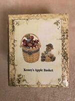 VERY RARE LONGABERGER TREASURE BOX KENNY'S APPLE BASKET LIMITED EDITION NIB