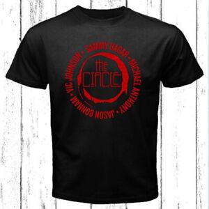 Sammy Hagar and The Circle Logo Men's Black T-Shirt Size S-3XL