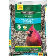 New listing 2 pack Wild Bird Food Seed Mix Birder's Blend Bulk 20lb Bag Feed Pennington