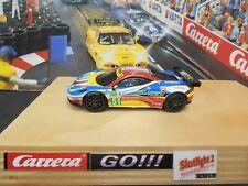 Carrera Go!!! Ferrari 458 GT2 AFCorse Tuning Motor Slicks Magnet SMD Licht 127