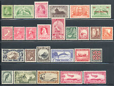 New Zealand 1915-1948 KGV KGVI Singles Sets Selection Mint £539.60/$680