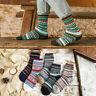 5Pairs Men Casual Wool Cashmere Warm Thick Design Retro Sports Fashion Socks Lot