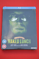 Naked Lunch Steelbook Bluray Uk Edition Region B *New and Sealed*