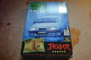Power Drive Rally - Atari Jaguar - VGC - CIB - PAL - UK Stock