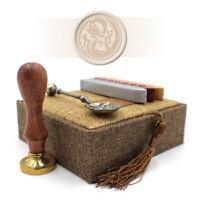 Wax Seal Kit - Medieval Dragon Stamp for Envelopes / Letters