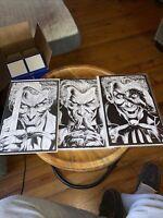 Batman Three Jokers #1,2 & 3 2020 DC Comics) 1:100 Sketch Variants NM +