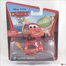 Disney Pixar Cars 2 Cartney Brakin #40 Chase by Mattel 2012