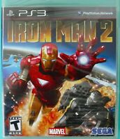 PS3 Iron Man 2 VG on Blu-Ray New FACTORY Sealed
