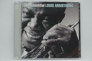 Louis Armstrong  The Essential  2CD Album (Promo Copy) - WHAT A WONDERFUL WORLD