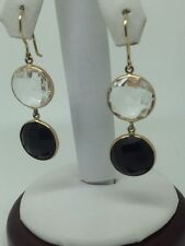 Black Oryx Dangly Earrings 5.3G