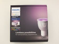 Philips Hue GU10 starter kit with remote control