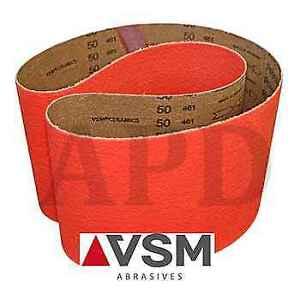 Cloth Backing Fine Grade Pack of 10 Brown 1 Width 180 Grit 42 Length Aluminum Oxide VSM 10564 Abrasive Belt