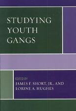 STUDYING YOUTH GANGS - NEW HARDCOVER BOOK
