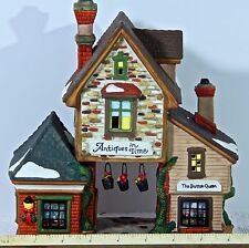 Collectable Christmas Village House Santa's Workshop ANTIQUES IN TIME 1060