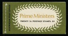 Australia 450a-453a Prime Ministers $1 Booklet 1969