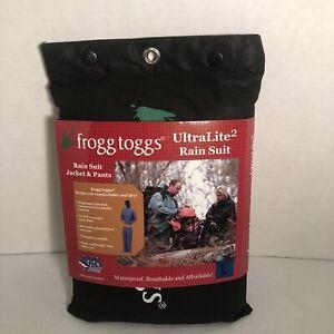 Frogg Toggs UltraLite2 Rain Suit Mens Size L Recyclable Polypropylene Waterproof