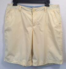 Juniors Light Yellow Shorts Size 11 Mossimo Supply Co Brand Bermuda Short