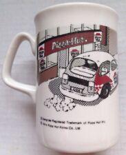 1994 KOREAN PIZZA HUT KOREA RESTAURANT WARE COFFEE MUG, STOP AND SMELL THE PIZZA