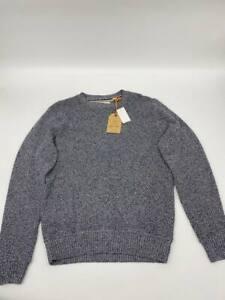 New Weatherproof mens crew neck sweater Sz M gray cotton pullover V660