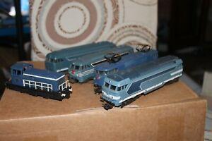 Lot 5 locomotives Jouef Lima